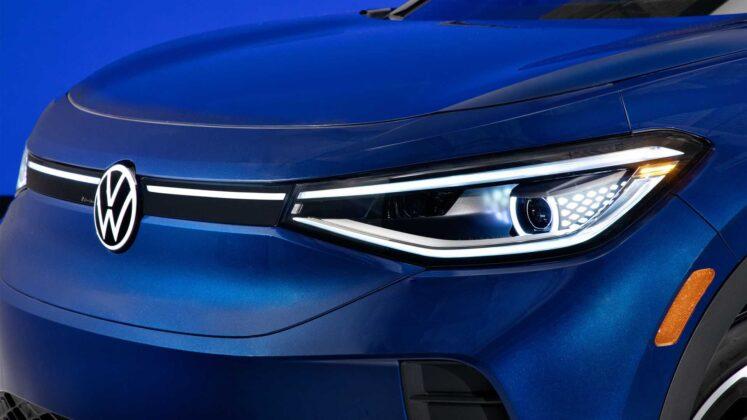 2021 volkswagen id.4 exterior headlight