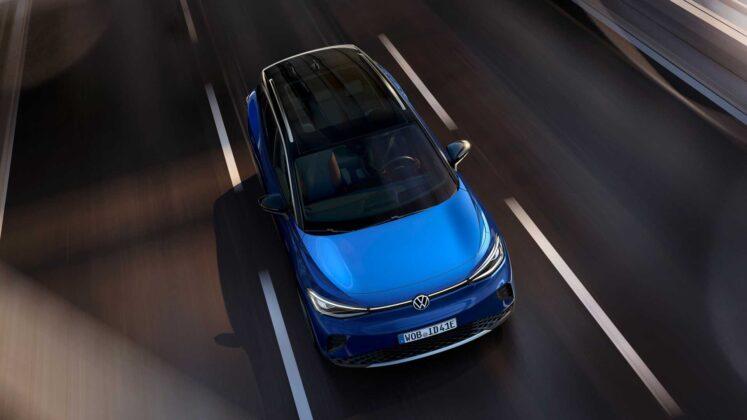 2021 volkswagen id.4 exterior in motion 1