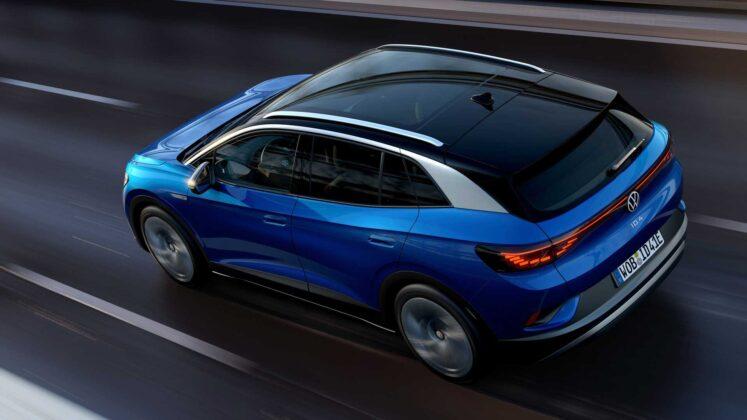 2021 volkswagen id.4 exterior in motion 2