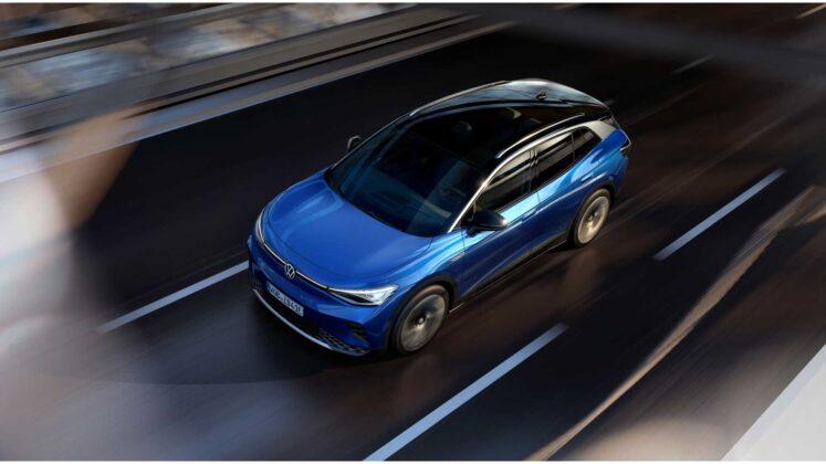 2021 volkswagen id.4 exterior in motion 3