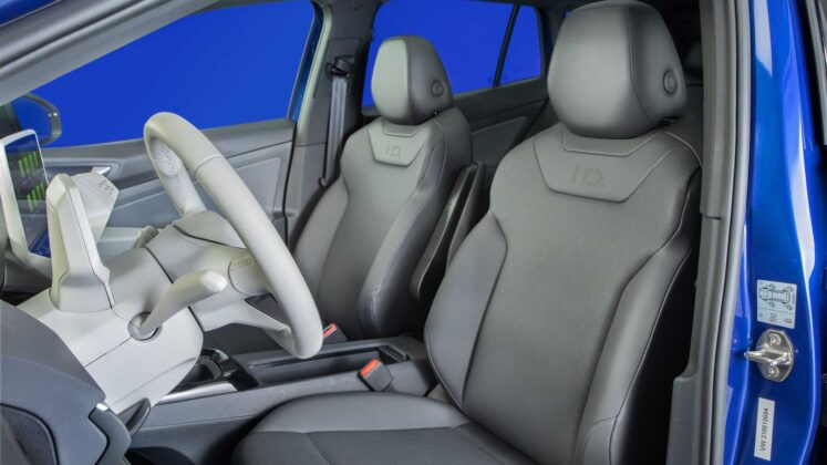 2021 volkswagen id.4 interior seats