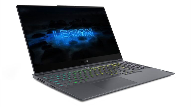 Legion Slim 7i, Lenovo's latest gaming laptop weighs less than 2kg