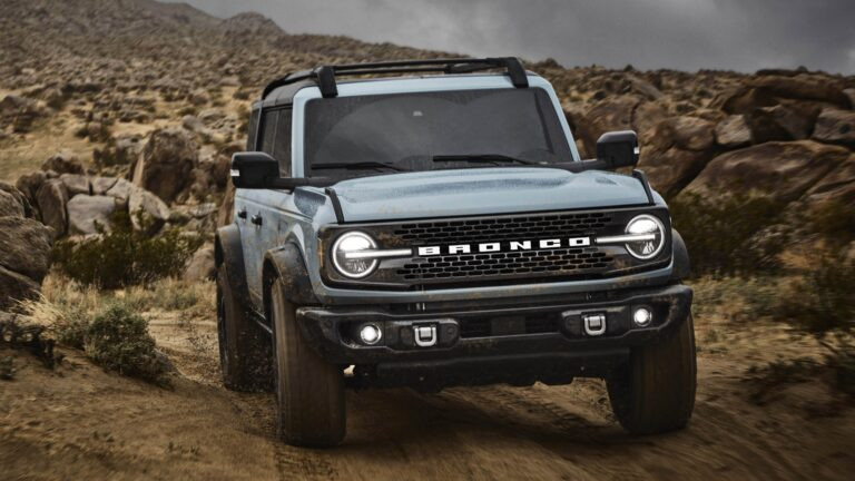 "2021 Ford Bronco Revealed: An Off-Road ""Wild and Untamed"" Model"