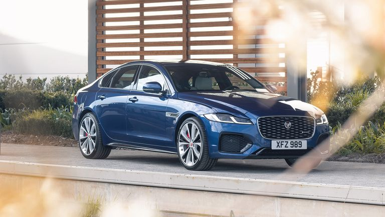 Jaguar XF gets a refresh for 2021: A new engine and a more beautiful look