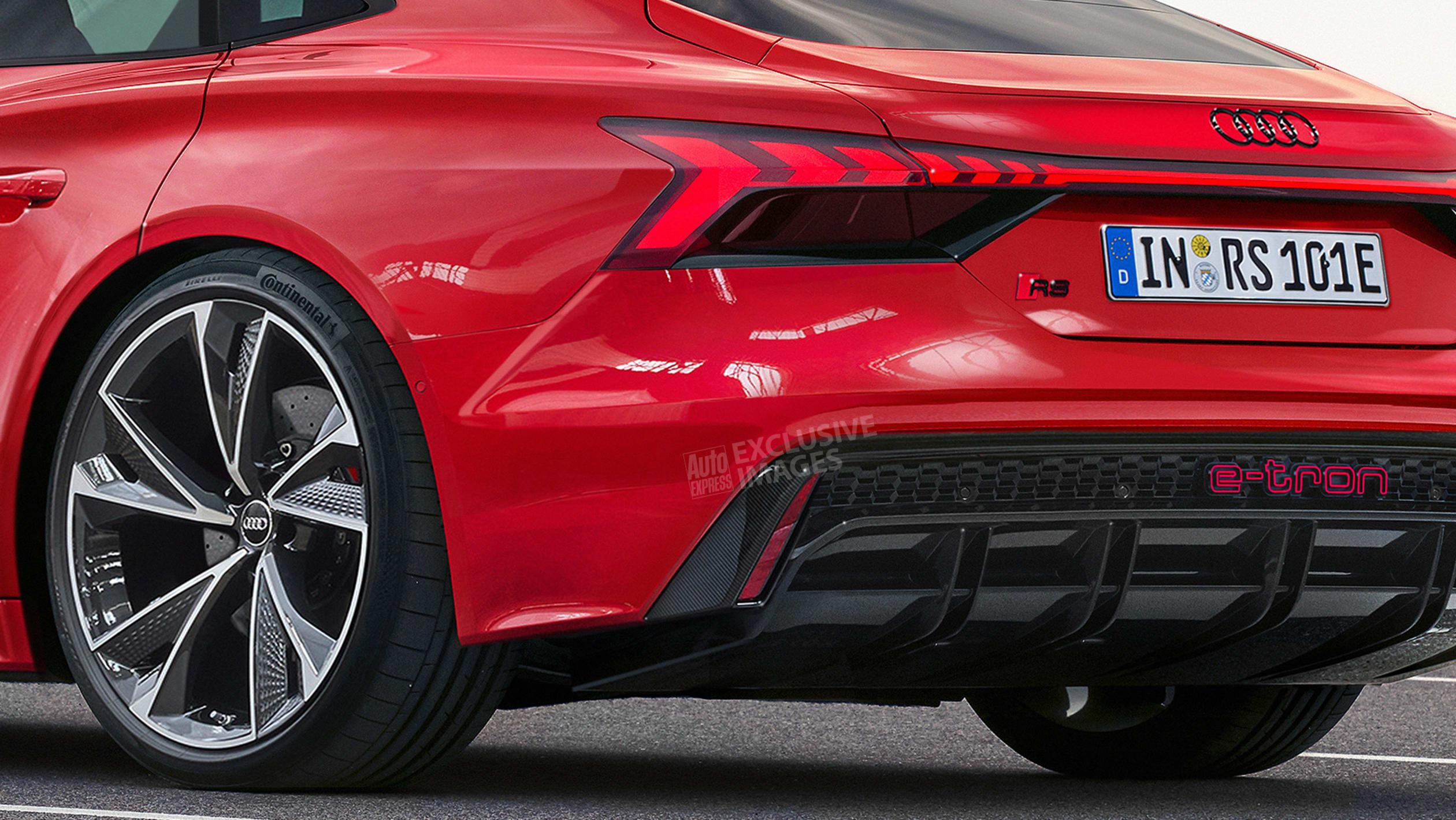 Audi RS e tron GT exclusive images