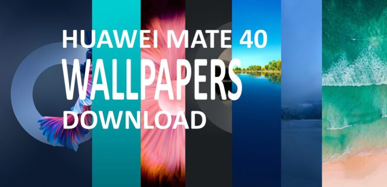 Huawei Mate 40 Pro Stock Official Wallpapers (2K) Download