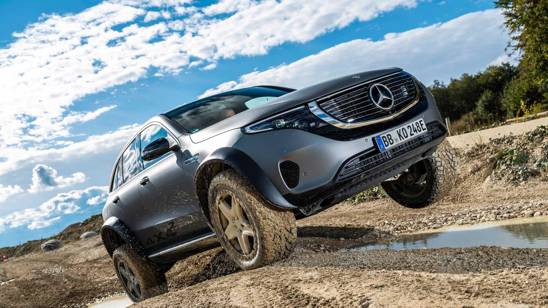 Mercedes EQC 4x4² concept