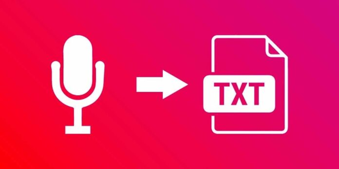 Voice to Text Converter