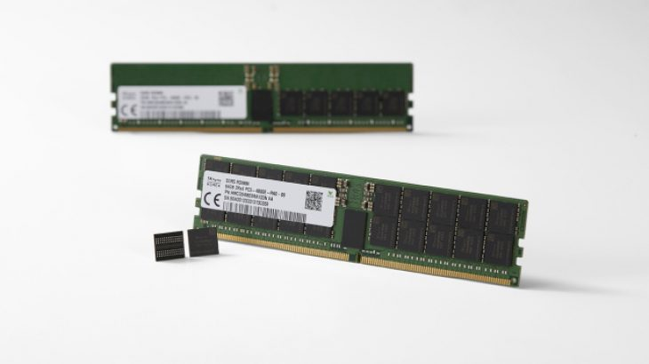 The first DDR5 RAM modules unveiled by SK Hynix