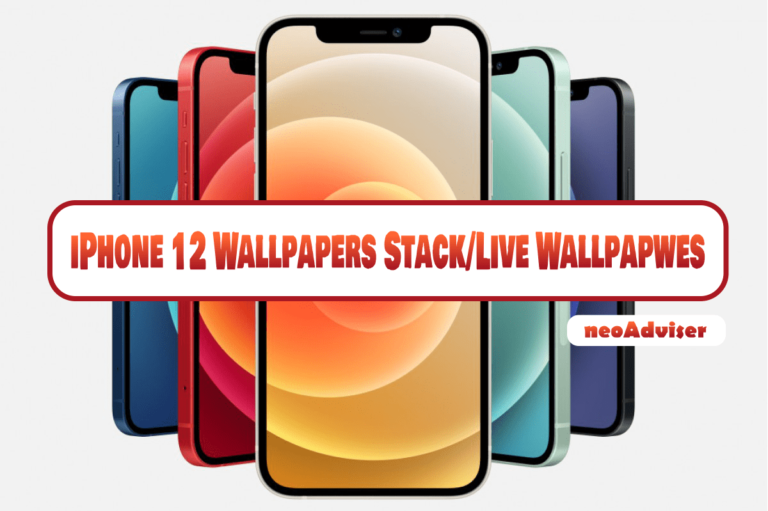 Download iPhone 12 (Pro) (Max) (Mini) Official Stack and Live Wallpapers