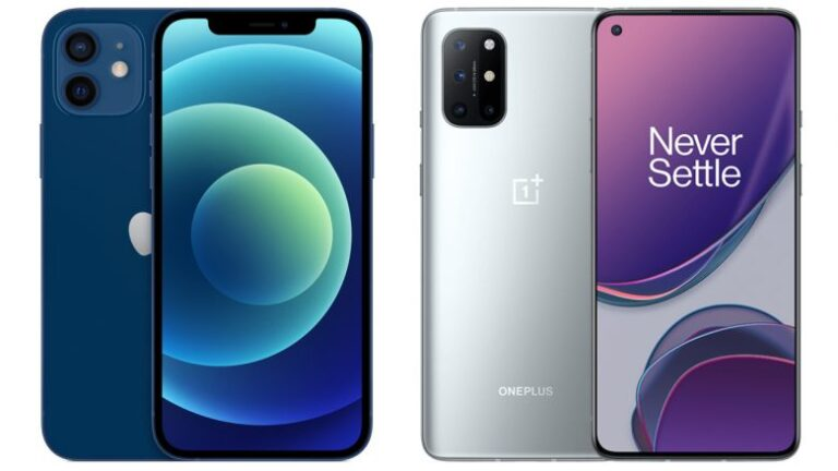 iPhone 12 vs. OnePlus 8T – where should you money go?