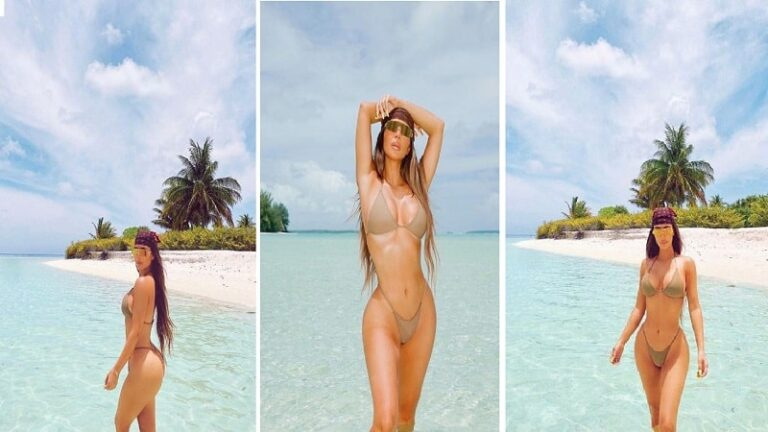 This is the ideal body of a 40-year-old! Kim appears bombastic in bikini (PHOTO)