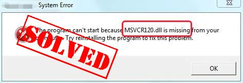 A Comprehensive Guide on Fixing MSVCR120 DLL File Error