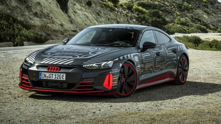 Latest 2022 Audi E-Tron GT, Car News