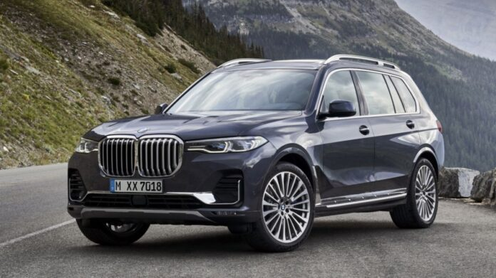 The BMW X7 Armored Model