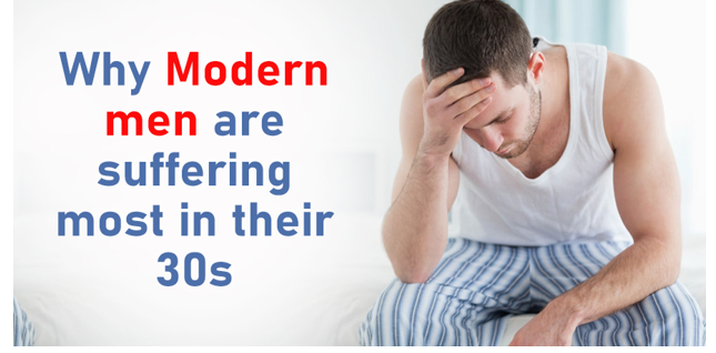 Why modern men are suffering most in their 30s,